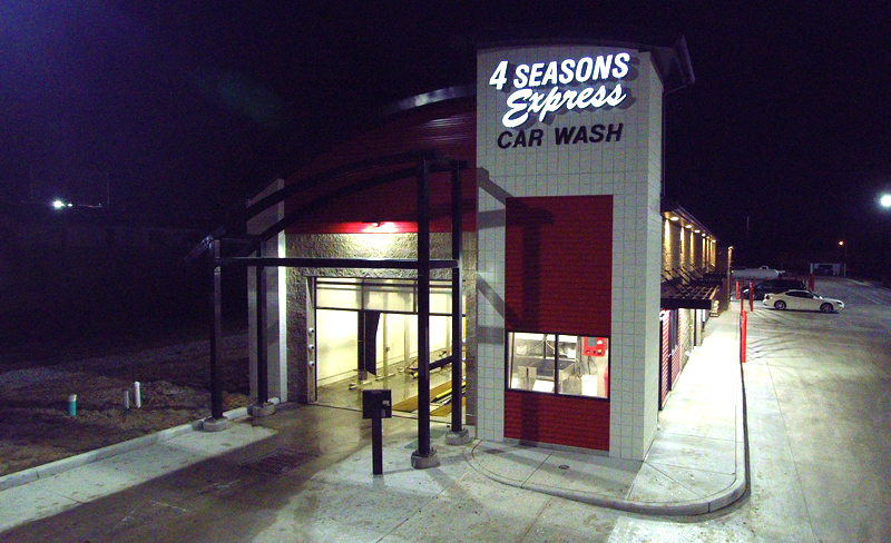 4 Seasons Express Car Wash, Bellefontaine Ave.